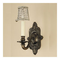 JVI Designs Decorative 1 Light Wall Sconce in Oil Rubbed Bronze 217-08