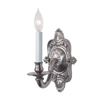 JVI Designs 217-17 Decorative 1 Light 6 inch Pewter Wall Sconce Wall Light photo thumbnail