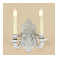JVI Designs Decorative 2 Light Wall Sconce in Antique White 219-11 photo thumbnail