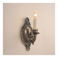 JVI Designs Classic 1 Light Wall Sconce in Weathered Bronze 299-02