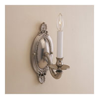 JVI Designs Classic 1 Light Wall Sconce in Pewter 302-17