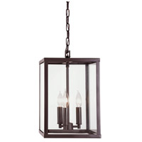 JVI Designs 3040-08 Carnegie 3 Light 16 inch Oil Rubbed Bronze Pendant Ceiling Light