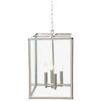 Carnegie 4 Light 20 inch Polished Nickel Pendant Ceiling Light