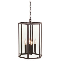 George 4 Light 20 inch Oil Rubbed Bronze Pendant Ceiling Light
