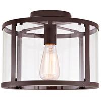 JVI Designs 3060-08 Bryant 1 Light 12 inch Oil Rubbed Bronze Semi-Flush Mount Ceiling Light