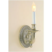 JVI Designs Petal 1 Light Wall Sconce in Pewter 307-17