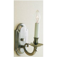 JVI Designs Elite 1 Light Wall Sconce in Pewter 309-17
