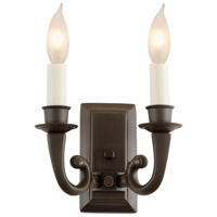 San Clemente 2 Light 8 inch Oil Rubbed Bronze Wall Sconce Wall Light