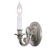 JVI Designs 317-17 San Clemente 1 Light 4 inch Pewter Wall Sconce Wall Light
