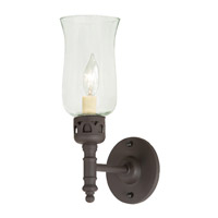 JVI Designs 326-08 Traditional Brass 1 Light 5 inch Oil Rubbed Bronze Wall Sconce Wall Light