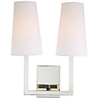 JVI Designs 432-15 Sullivan 2 Light 13 inch Polished Nickel Wall Sconce Wall Light