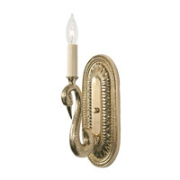 JVI Designs Swan 1 Light Wall Sconce in Polished Brass 531-01