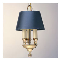 Library 3 Light 8 inch Polished Brass Chandelier Ceiling Light
