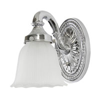 Polished Chrome Traditional Bathroom Vanity Lights