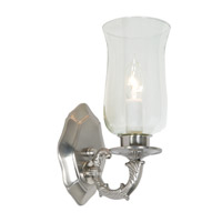 JVI Designs San Clemente 1 Light Wall Sconce in Pewter 815-17
