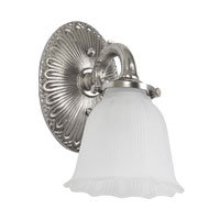 JVI Designs Signature 1 Light Bath Sconce in Pewter 831-17