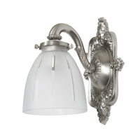 JVI Designs Signature 1 Light Bath Sconce in Pewter 837-17