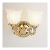 JVI Designs Signature 2 Light Bath Sconce in Polished Chrome 842-06