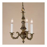 JVI Designs Decorative 3 Light Foyer Lantern in Weathered Bronze 955-02