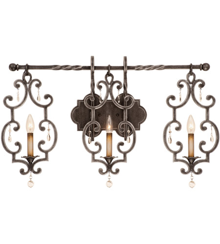 Wrought Iron Crystal Lights Wall Sconces