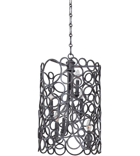 Wrought Iron Foyer Lighting