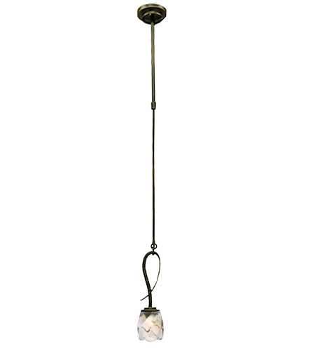 Kalco Penrith 1 Light Mini Pendant in Antique Copper 2926AC photo