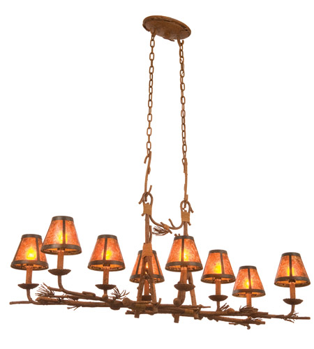 Kalco Lighting Ponderosa 8 Light Chandelier in Ponderosa 3038PD/S205 photo