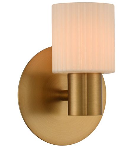 Winter Brass Harlowe Bathroom Vanity Lights