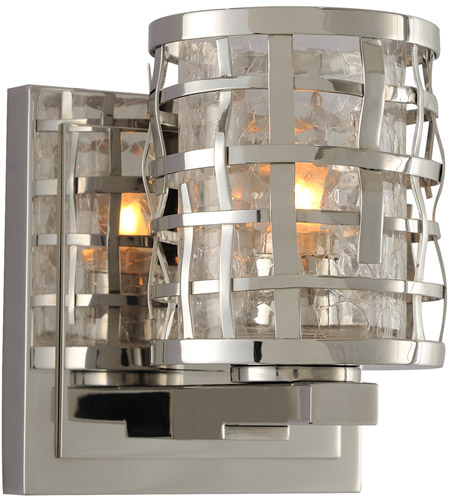 Kalco Stainless Steel Bathroom Vanity Lights