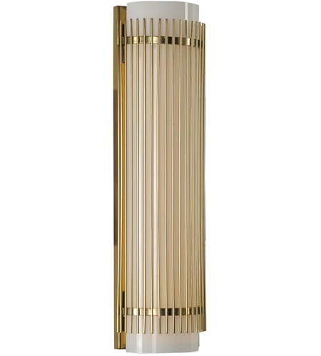 Kalco 309282VBR Edgewater LED 19 inch Vintage Brass Vanity Light Wall Light - Kalco 309282VBR Edgewater LED 19 Inch Vintage Brass Vanity Light