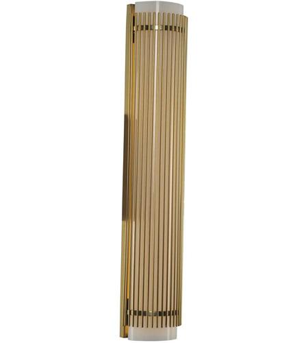 Kalco 309283VBR Edgewater LED 26 inch Vintage Brass Vanity Light Wall Light - Kalco 309283VBR Edgewater LED 26 Inch Vintage Brass Vanity Light