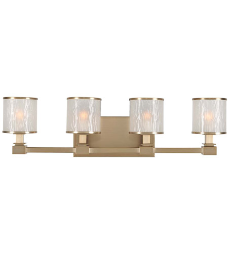 Kalco 313534brb Destin 4 Light 27 Inch Brushed Bronze Vanity Wall