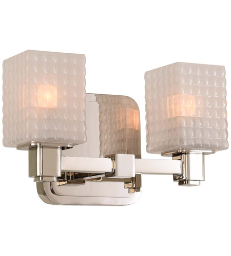 Avanti Led 10 Inch Polished Nickel Vanity Light Wall