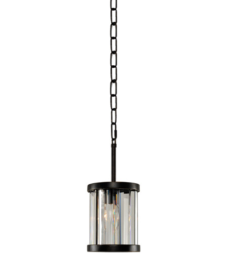 Kalco Sienna Bronze Crystal Essex Pendants