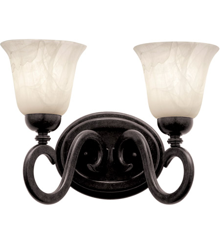Black Santa Barbara Bathroom Vanity Lights