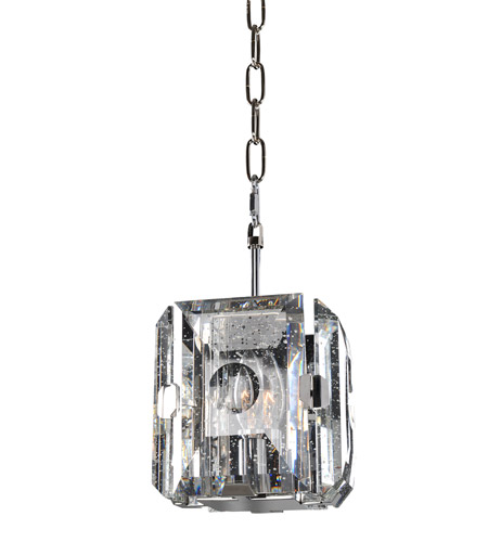 Kalco 390450SL Giada 1 Light 7 inch Stainless Steel Mini Pendant Ceiling Light photo thumbnail