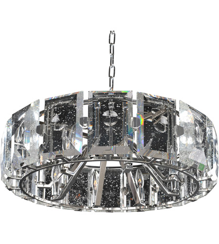 Kalco Stainless Steel Crystal Pendants