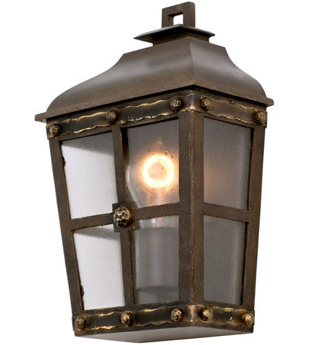 Aged Bronze Sherwood Outdoor Wall Sconces