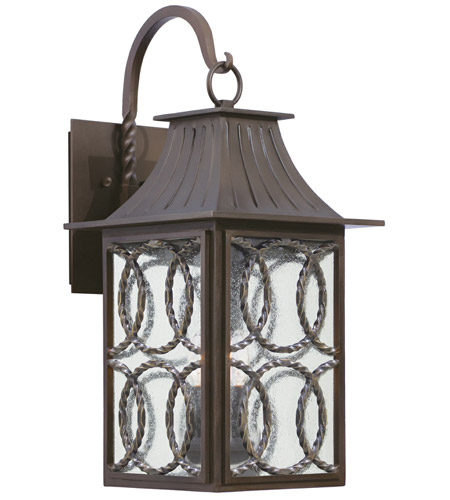 Kalco 404222AGB Monterey 3 Light 26 inch Aged Bronze Outdoor Wall Sconce photo thumbnail