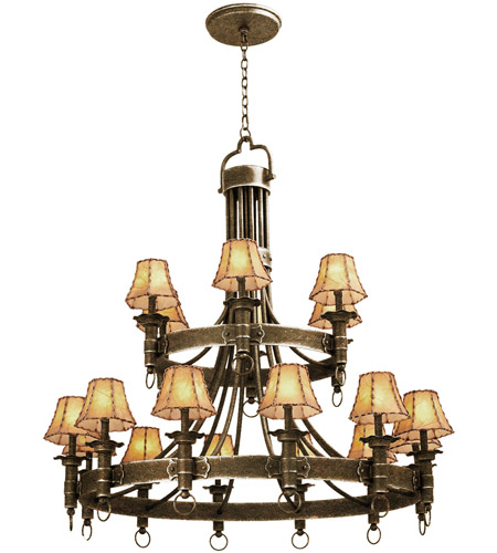 Kalco French Cream Americana Chandeliers