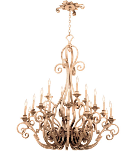 Kalco Hand Forged Iron Ibiza Chandeliers