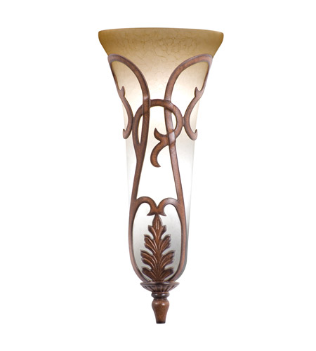 Wall Sconces Without Lights : Kalco 4404TN Florentine 3 Light 10 inch Tuscan Sun Wall Sconce Wall Light in Without Glass