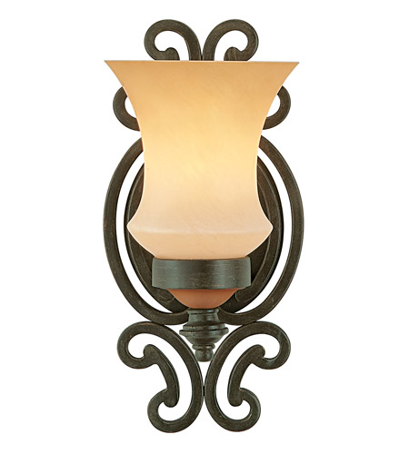 Kalco 4441HV Hamilton 1 Light 7 inch Havana Wall Sconce Wall Light in Without Glass photo