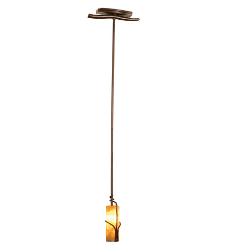 Kalco 4750GW/CALC Napa 1 Light 4 inch Bronze Pendant Ceiling Light in Calcite (CALC) FALL CLEARANCE photo