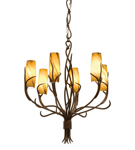 Golden Iron Chandeliers