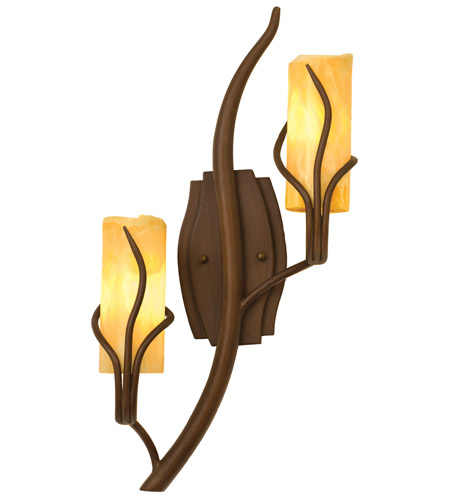 Kalco Lighting Napa 2 Light Wall Sconce in Golden Wheat 4764GW/CALC photo