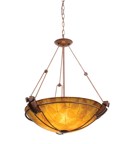 Kalco Grande 5 Light Pendant in Tuscan Sun 4846TN/NS103 photo