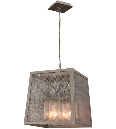 Kalco 500051CI Highland 4 Light 14 inch Country Iron Pendant Ceiling Light photo thumbnail