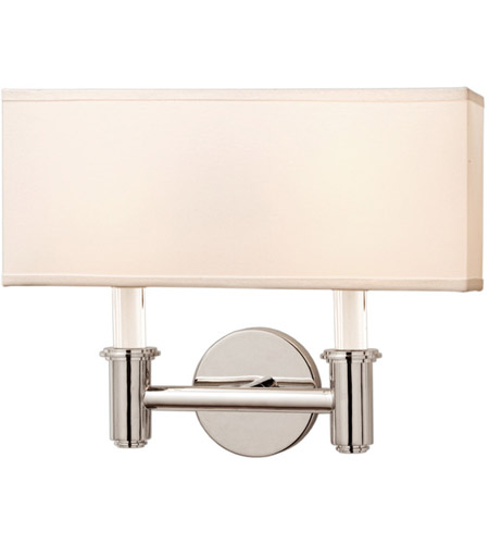Kalco 500522CH Dupont 2 Light 14 inch Chrome ADA Wall Sconce Wall Light photo