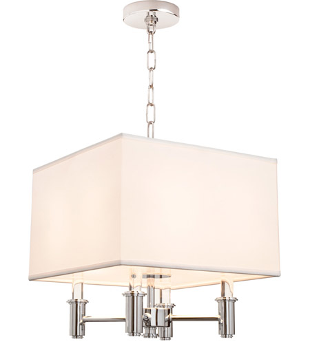 Kalco 500570CH Dupont 4 Light 14 inch Chrome Pendant Ceiling Light photo thumbnail